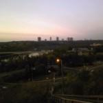 Edmontonの夜明け